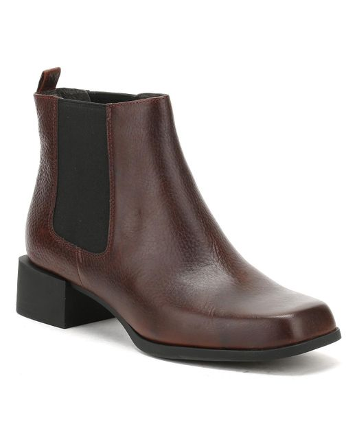 Camper - Womens Cigar Brown Kobo Ankle Boots - Lyst