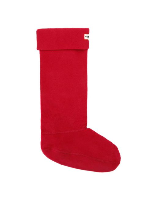 Hunter - Red Welly Socks for Men - Lyst