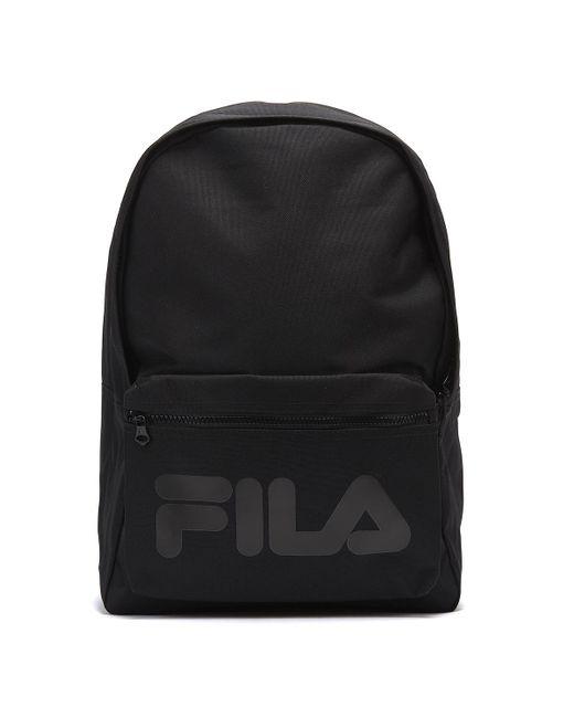 c778f0edb6 Fila Verdon Black Backpack in Black for Men - Lyst