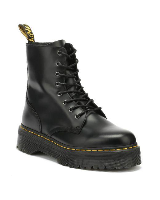 Dr. Martens - Dr. Martens Jadon Black Platform Boots for Men - Lyst