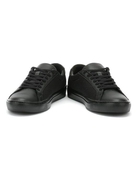 8efda5234841d6 Lacoste Mens Black L.12.12 Light-wt 318 3 Trainers in Black for Men ...
