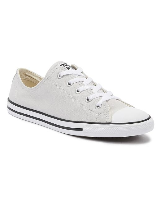 Gray Chuck Taylor All Star Dainty Womens Mouse Grey Ox Trainers
