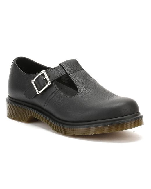 Dr. Martens | Dr. Martens Womens Black Virginia Polley Shoes | Lyst