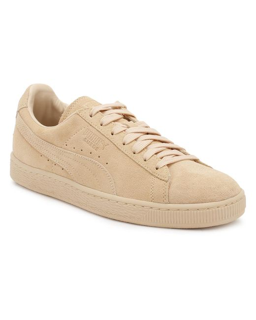 7b71708023c Lyst - PUMA Suede Classic Tonal Fashion Sneaker in Natural for Men ...