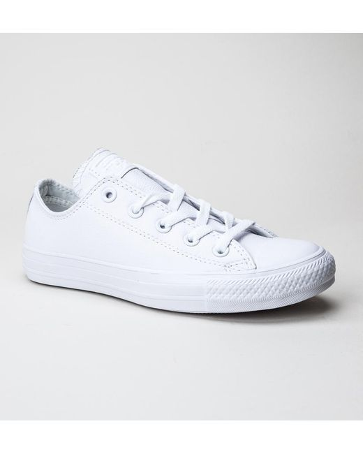 Converse | White 136823c Ct Ox Trainers for Men | Lyst ...