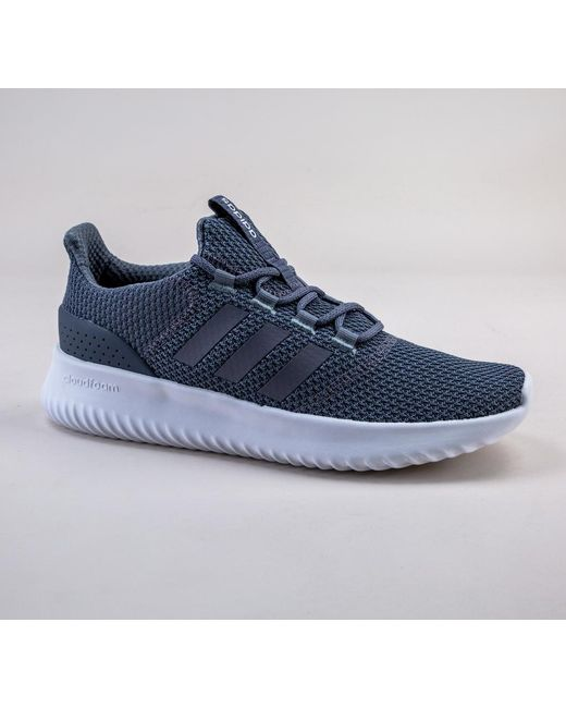 Adidas - Blue B43843 Cloudfoam Ultimate Grey-grey-onix Trainers for Men -  Lyst ... bcf203a52