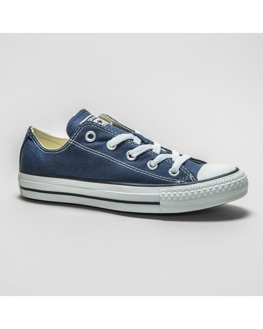 5d962d7bbf1682 Converse - Blue All Star Ox (low) Trainers for Men - Lyst ...