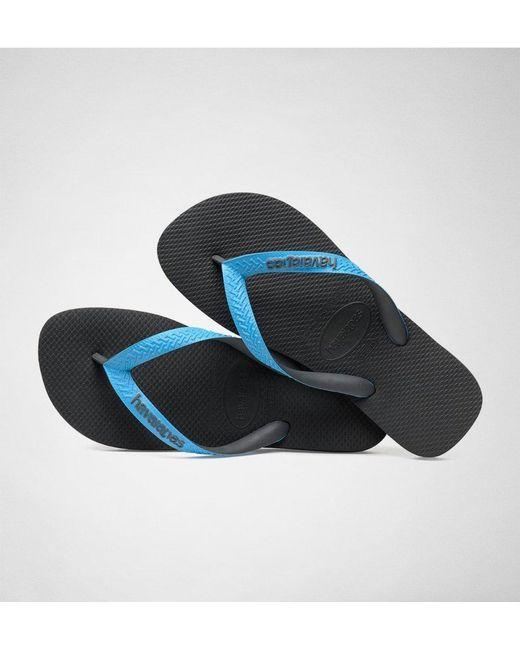 74e73d4b6459ef ... Havaianas - Blue H.top Mix Grey-turquoise Flip Flops for Men - Lyst