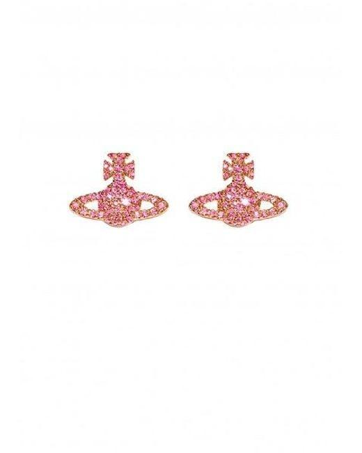 Vivienne Westwood - Multicolor Grace Br Stud Earrings - Lyst