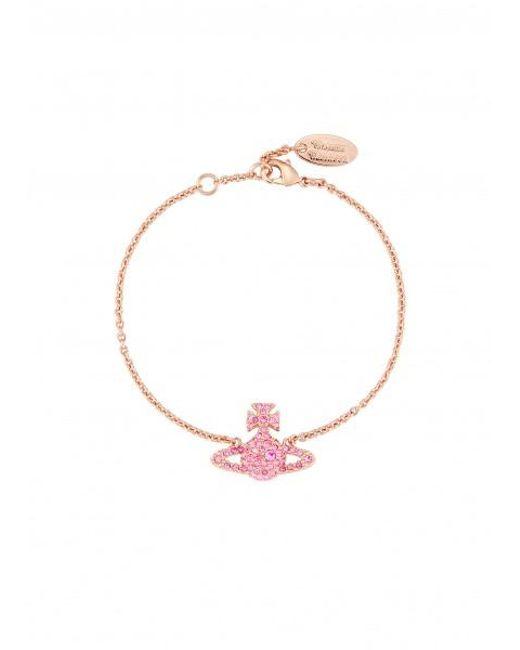 Vivienne Westwood - Metallic Grace Bas Relief Bracelet Light Peach - Lyst