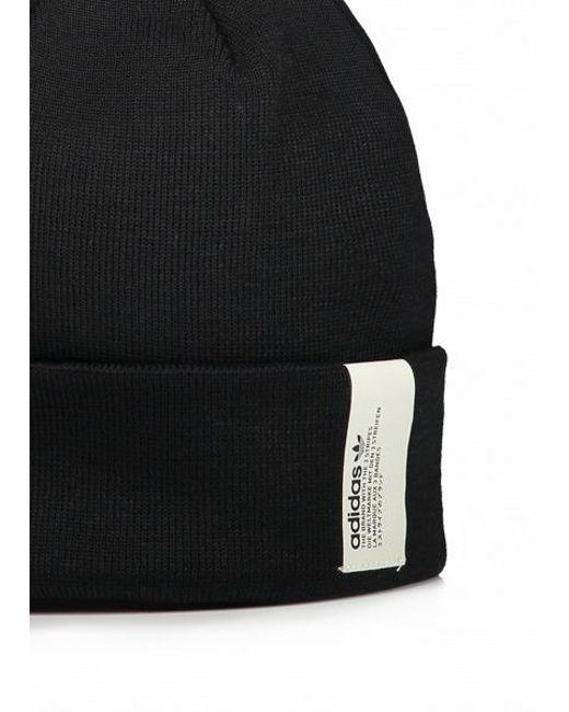 ec2c1ddc67564 ... Adidas Originals - Black Nmd Beanie for Men - Lyst ...