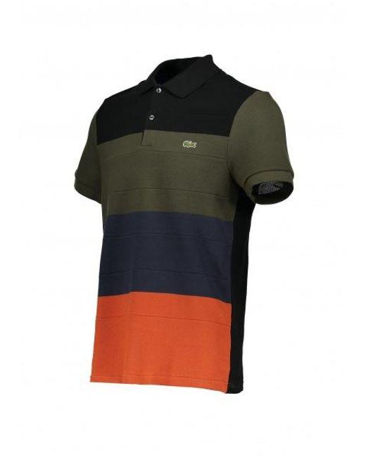 eb307191c5 ... Lacoste - Multicolor Stripe Polo Shirt for Men - Lyst ...