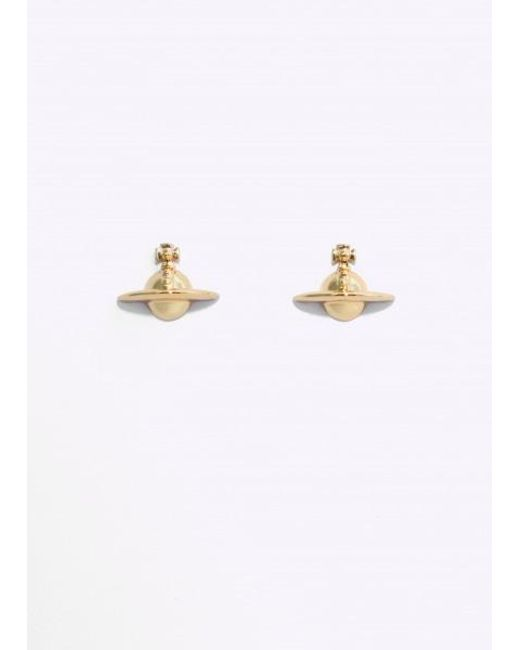 Vivienne Westwood | Metallic Solid Orb Earrings | Lyst