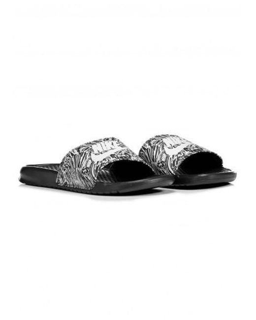 9d4bfcdcefb44f ... Nike - Benassi Jdi Print In Black 631261-006 for Men - Lyst ...