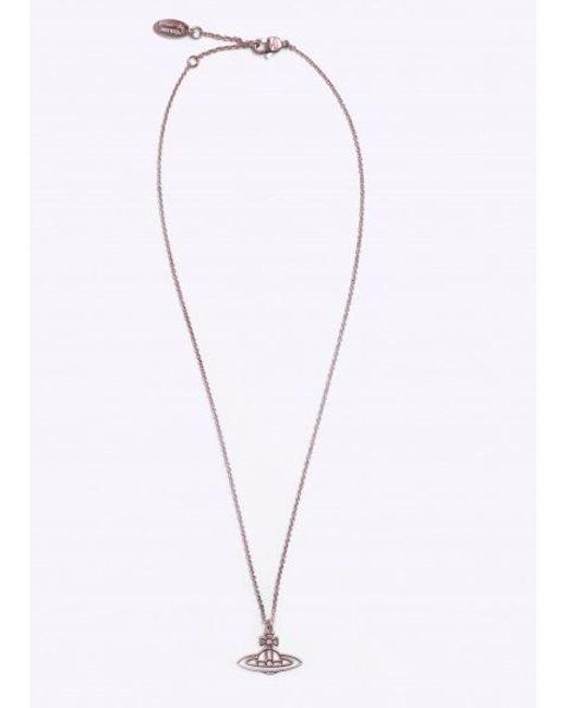 Vivienne Westwood | Metallic Thin Line Flat Orb Pendant | Lyst