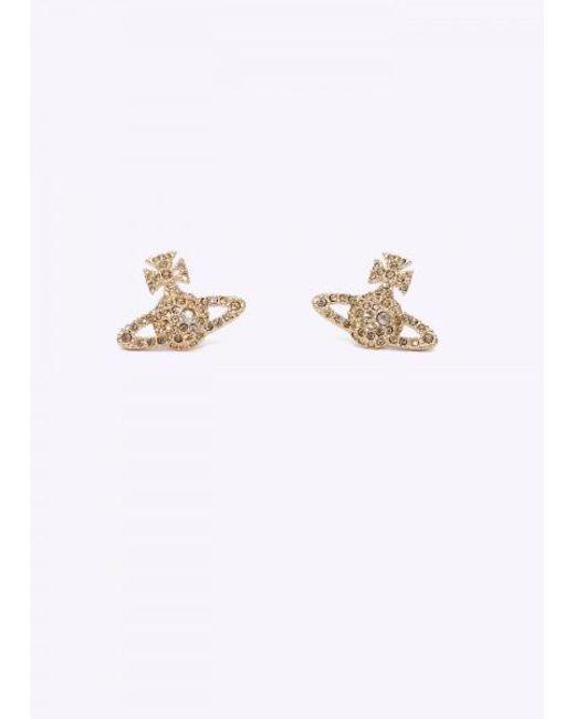 Vivienne Westwood - Yellow Grace Br Stud Earrings - Lyst