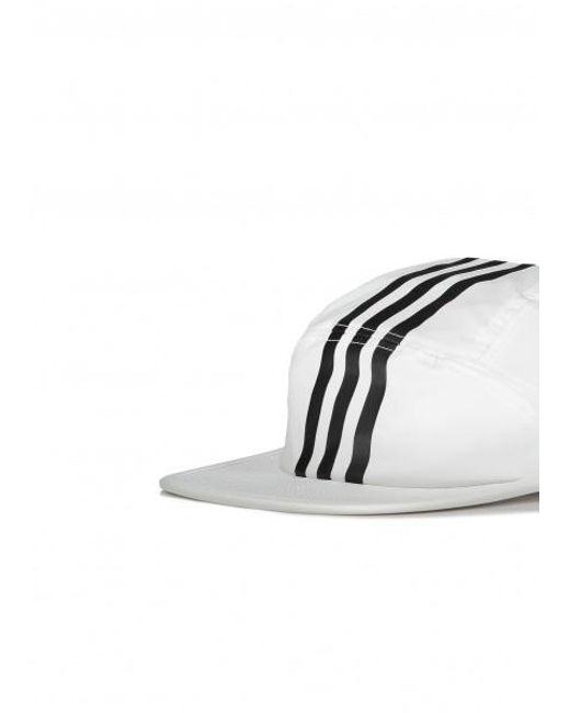 1b86424da8b ... Adidas Originals - White Tech 3 Stripe Cap for Men - Lyst ...