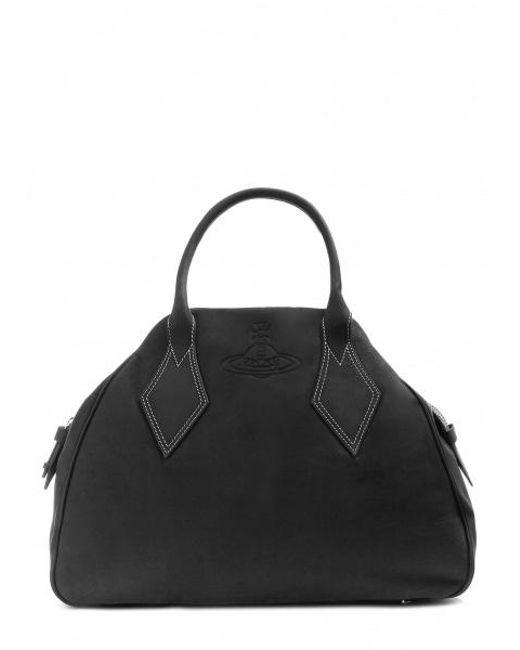 d1ed9f4204a42 Vivienne Westwood - Black Yasmine Large Bag for Men - Lyst ...