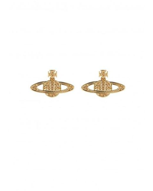 92bd5d9cb Lyst - Vivienne Westwood Mini Bas Relief Earrings in Metallic - Save 4%