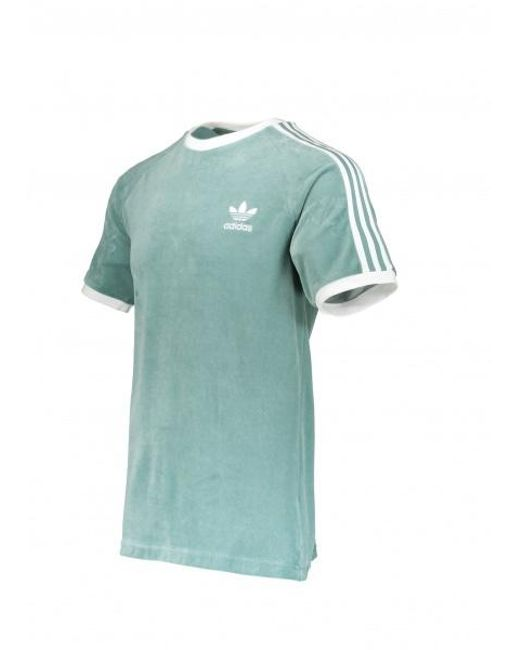 df200107 ... Adidas Originals - Green Cozy Tee for Men - Lyst ...