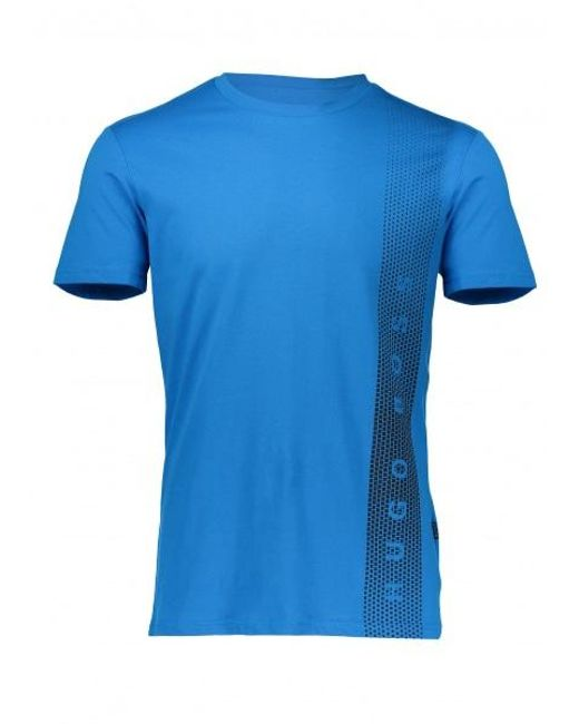 BOSS - Blue Graphic Rn T for Men - Lyst