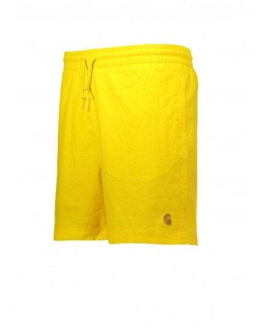 44d37d23c30ce ... Carhartt - Yellow Chase Swim Trunks for Men - Lyst ...