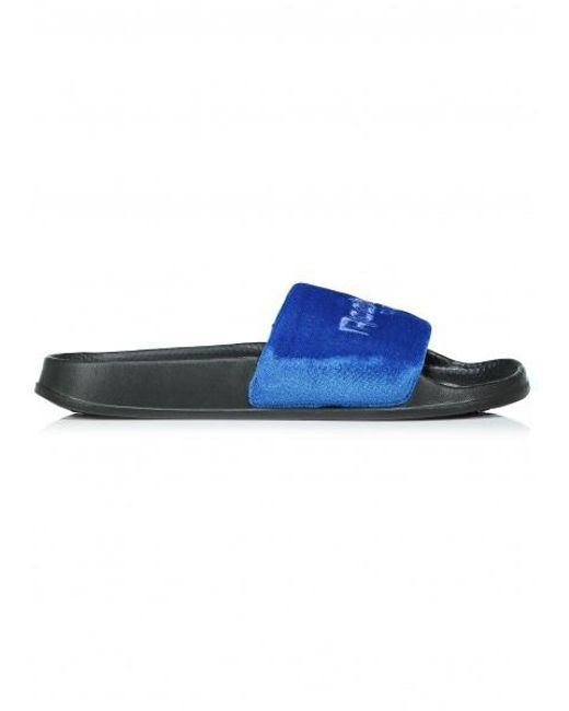 Reebok - Blue Classic Slide for Men - Lyst ... a2fb90f3a