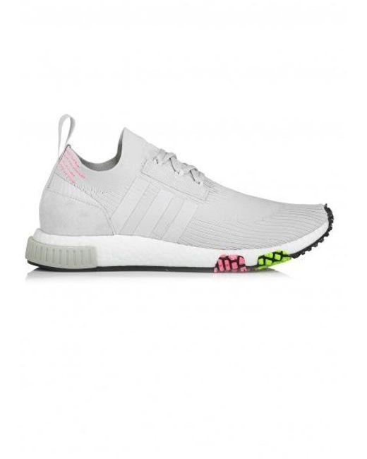 online store 33997 b7abb Adidas Originals - Gray Nmd Racer Pk for Men - Lyst ...