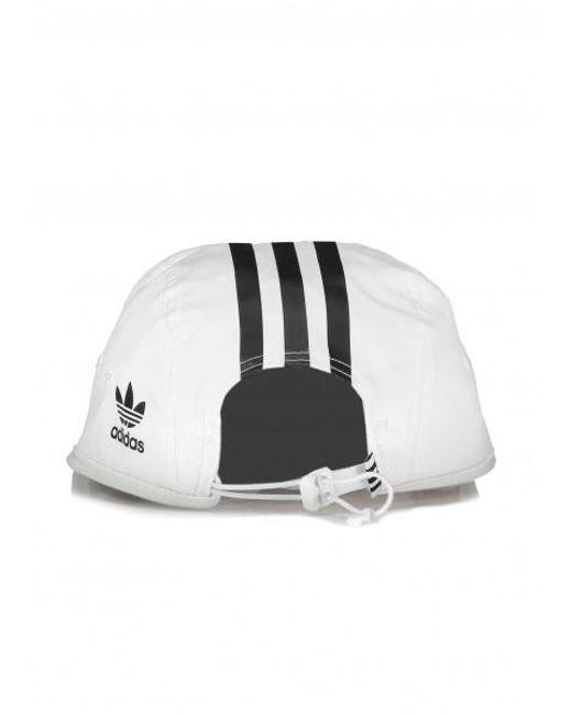e38ec7f0b47 ... Adidas Originals - White Tech 3 Stripe Cap for Men - Lyst