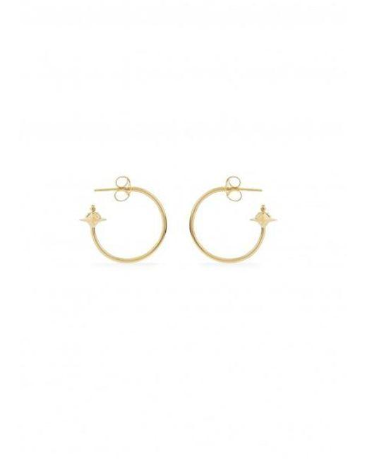 870bb7d3f Vivienne Westwood - Metallic Rosemary Small Earrings - Lyst ...