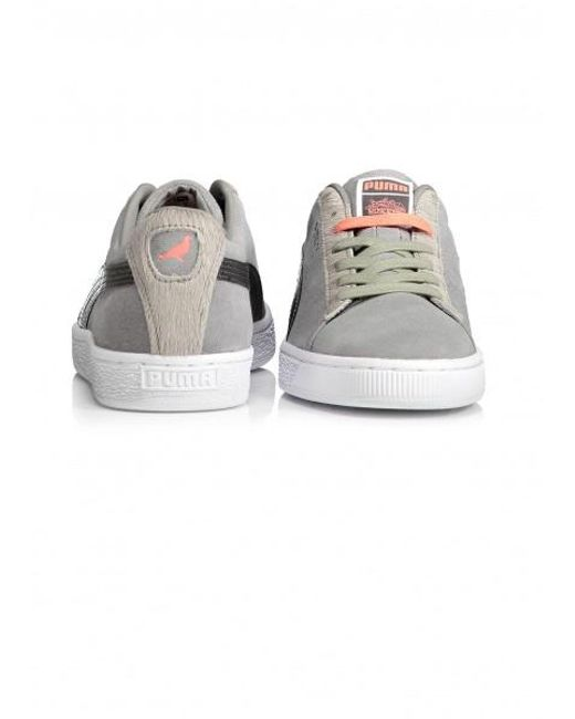 36f7d4e5c3cc ... PUMA - Gray Suede Classic X Staple Pigeon for Men - Lyst