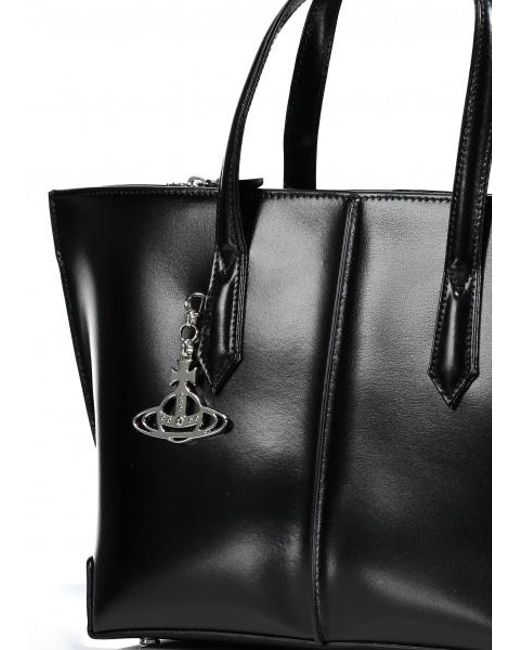 acb6b93154 Lyst - Vivienne Westwood Sarah Medium Shopper Bag in Black - Save 10%