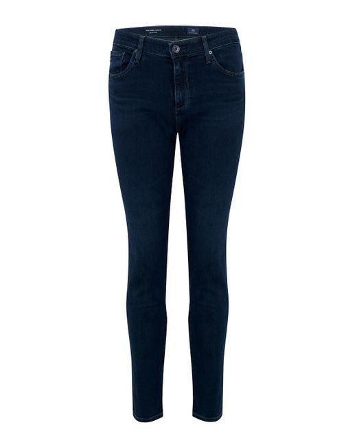 AG Jeans - Blue Prima Ankle Cigarette Jean In Yardbird - Lyst