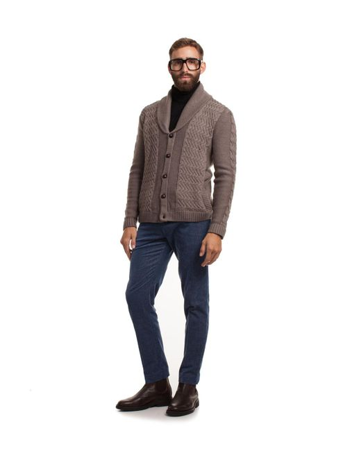 Mr Turk - Multicolor Immanuel Chunky Cardigan for Men - Lyst