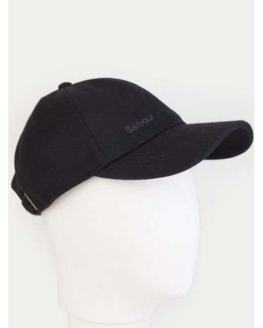 0246cd6a Barbour Black Coopworth Sports Cap in Black for Men - Lyst