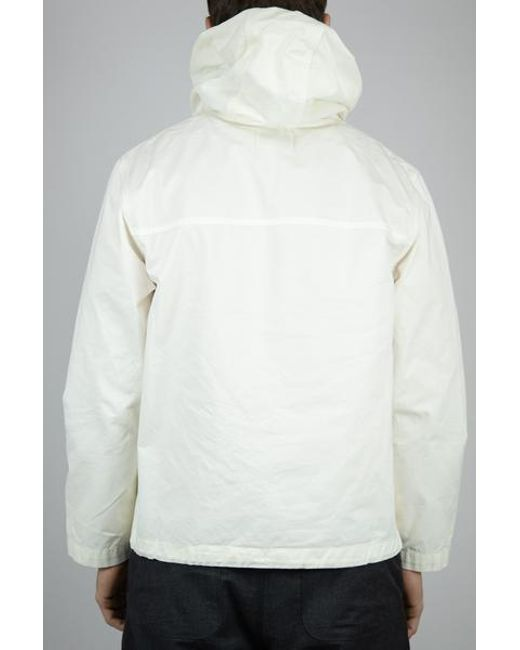 21ebe6c3117e1 ... Albam - White Jackson Smock Ecru for Men - Lyst