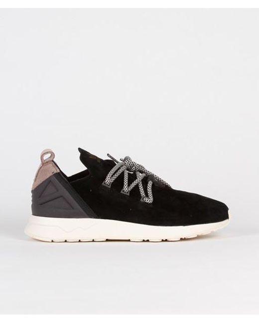 the best attitude 0b8d3 04988 Men's Core Black Suede Originals Zx Flux Adv X Shoes