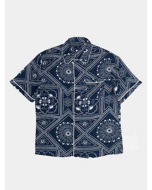6519ca71 Levi's Pajama Shirt Bandana Blues in Blue for Men - Lyst