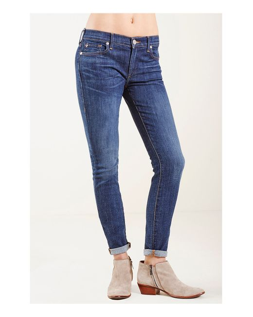 True Religion | Blue Becca Bootcut Womens Jean | Lyst
