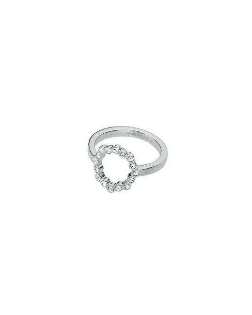 Dyrberg/Kern - Metallic Vivian Flower Style Ring - Lyst