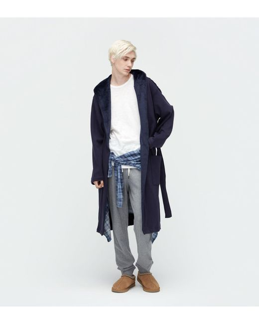 Lyst - Ugg Men\'s Brunswick Dressing Gown in Blue for Men
