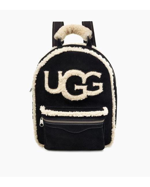 Ugg - Black Dannie Sheepskin Backpack Dannie Sheepskin Backpack - Lyst