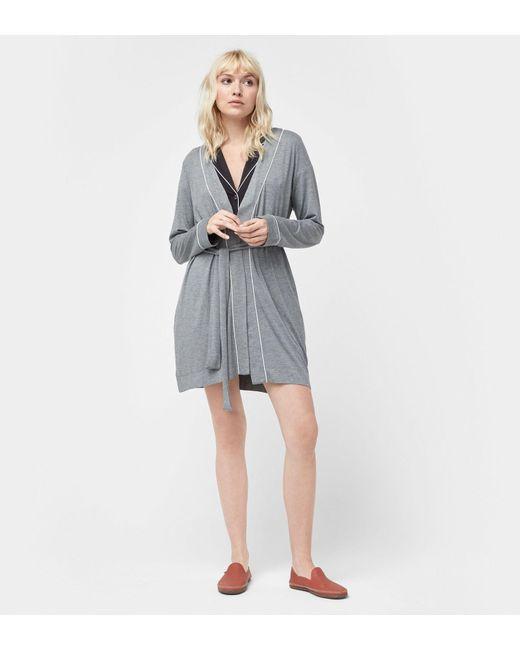 Ugg - Gray Women's Aldridge Robe - Lyst