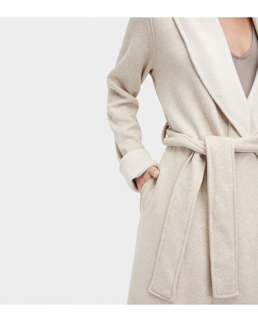 4548b971aa ... Lyst Ugg - Natural Women s Duffield Ii Dressing Gown ...