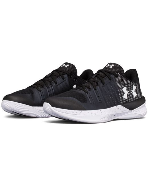 under armour volleyball shoes. under armour | black women\u0027s ua block city volleyball shoes lyst