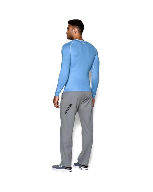 Under Armour | Blue Men's Ua Heatgear® Armour Long Sleeve Compression Shirt for Men | Lyst