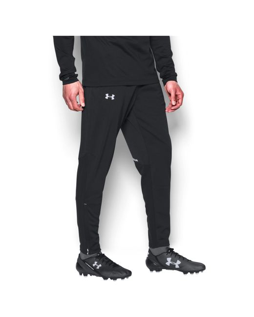 Under Armour   Black Men's Ua Challenger Knit Warm-up Pants for Men   Lyst