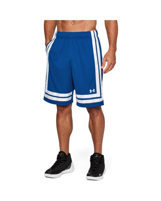 "Under Armour - Blue Men's Ua Baseline 10"" Shorts 18 for Men - Lyst"