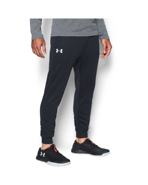 Under Armour | Black Men's Ua Storm Armour® Fleece Joggers for Men | Lyst