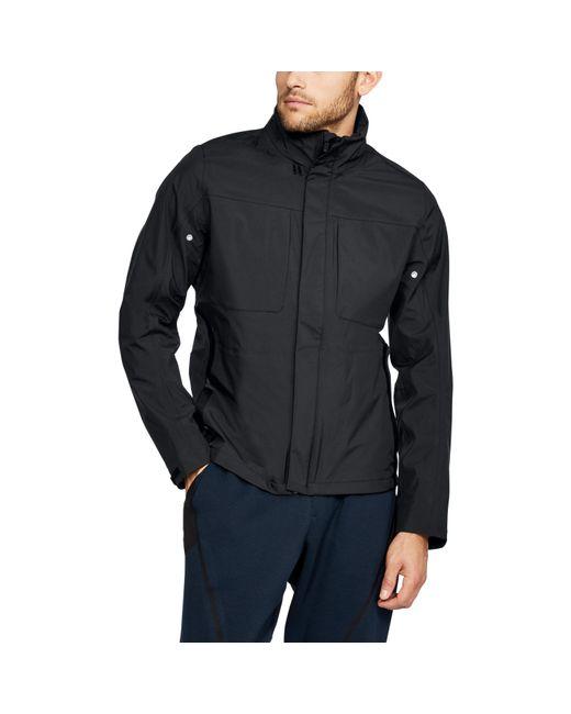 Under Armour - Black Men's Uas Members Blouson Jacket for Men - Lyst